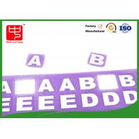 Wholesale A B C Small words sticky hook and loop , hook and loop letters A grade various color from china suppliers