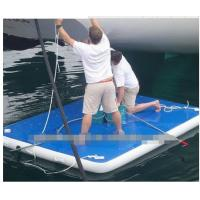 Wholesale all sizes drop stitch inflatable air dock floating dock for sale  in all colors from china suppliers