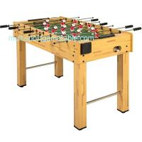 Wholesale 4FT Soccer Game Table Wood Football Table MDF Table Soccer Steel Play Rods from china suppliers