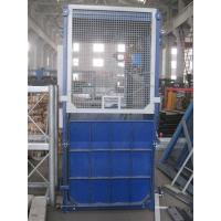 Quality Ramp Door Style Construction Hoist Elevator , Construction Lifting Equipment for sale