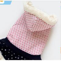 Wholesale Pet Apparel Small Breed Dog Clothes Coat eco-friendly double sided fleece XXL M from china suppliers