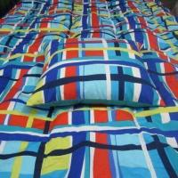 Wholesale Microfiber Down Quilt with Active Printing, Piping, Double Stitching and White Duck Feather Filling from china suppliers