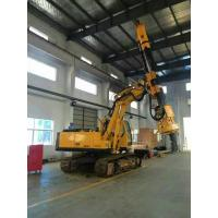Wholesale Bored Pile Driver Hire , Driven Piles Construction Hydraulic Rig Machine 6.1T Total Weight from china suppliers
