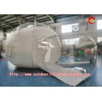 Buy cheap Outdoor Camping PVC Inflatable Bubble Room Clear Tent With Blower from wholesalers