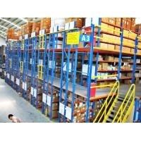 Wholesale Multi - Layer Powder Coating Rack Supported Mezzanine Floor With Walkways from china suppliers