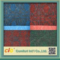 Wholesale Custom 100% Polyester Jaquard Outdoor Carpet Fabric Anti-fire and Anti Slip from china suppliers