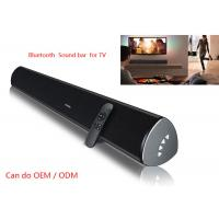 Quality 34 Inch Wireless Sound Bar Speaker , Home Cinema Sound Bars With Subwoofers For TV for sale