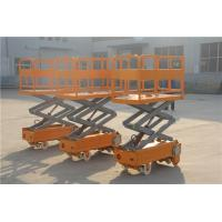 Wholesale FRP aerial work platform GRP ladder with wheel high strength from china suppliers