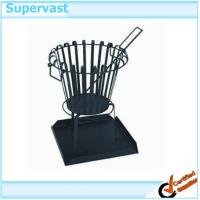 Wholesale Eco - Friendly Patio Furniture Accessories Outdoor Welded steel fire basket from china suppliers
