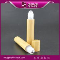Wholesale Shengruisi packaging SRS-15ml bamboo empty roll on bottle from china suppliers