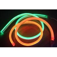 Wholesale 10*18mm waterproof IP67 semi transparent PVC 24v mini led neon flex light from china suppliers