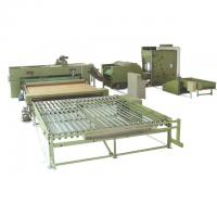 Quality Polyester Wadding Production Line Quilt Auto Filling Line 110kw 3400mm for sale