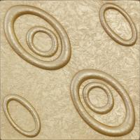Buy cheap Modern Art 3D Leather Wall Panels Effect 3D Wall Coverings , D-022 from wholesalers