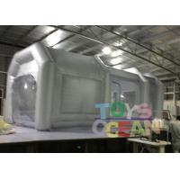 Wholesale 6x3x3m Advertising Inflatables Spray Booth Grey Color For Car Painting Use from china suppliers