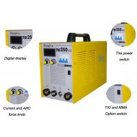 Wholesale 0.93 PF Inverter TIG Welding Machine , Inverter ARC TIG Welder With CE 3C Certificated TIG250A from china suppliers