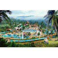 Wholesale Commercial Water Park Project for Holiday Resort and Spray Park , Customized from china suppliers