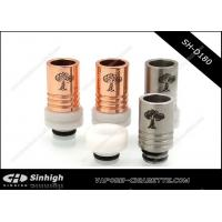 Wholesale Fit For 510 Atomizer SS/Copper Delrin 2puffs Drip tip With Tree Of Life Logo from china suppliers