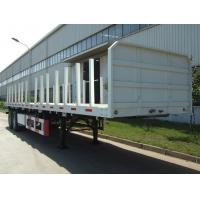 Quality Log Transport-Flat Bed Semi-Trailer for sale