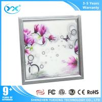Wholesale Unique 3D paterns Slim led panel ceiling lights wifi net pure white from china suppliers