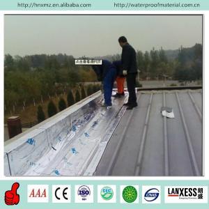 Buy cheap 1.5mm aluminium film heat-resistant self adhesive rubber membrane for waterproofing from wholesalers