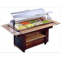 Wholesale NN-SO1420 Salad Bar Commercial Buffet Equipment With Wheel For Convenient Moving from china suppliers