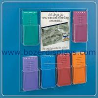 Wholesale China Wholesale Wall Mount Brochure Rack With Multi-Pockets from china suppliers