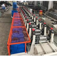 Wholesale 11KW Power Heavy Weight Duty Steel Racking Forming Machine 12 - 15 M / Min from china suppliers