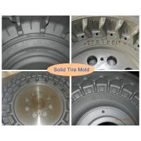 Wholesale Two-piece Forging Mould Steel Solid Tire Mold For  Solid Tire from china suppliers