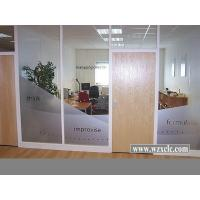 Wholesale Famed Aluminium Modular Office Partitions With Insulating Glass ,Stud Walls from china suppliers