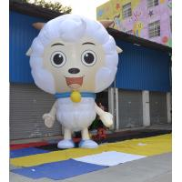 Wholesale Event Display Inflatable Advertising Products 3.5m Height Pleasant Sheep from china suppliers