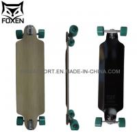 Buy cheap 36*9 inch Professional Longboard with Hot Sales for South America with 7 Inch paris truck from wholesalers