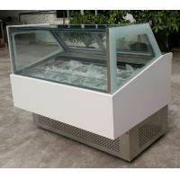 Wholesale Commercial Refrigerator Freezer 45 Degree Ice Cream Cupboard with Aspera Compre from china suppliers