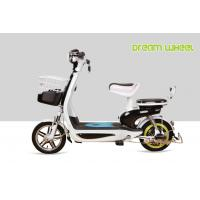 Quality Small Electric Bicycle 350 Watt Scooter Steel Lovely Drum Brake Long Travel Distance for sale