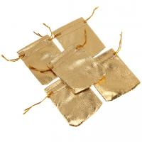 Quality Wholesale Beautiful cloth bag, custom gold&silver jewelry pouches, nice gift bag for sale