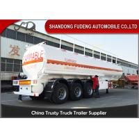 Quality 38000 liters fuel tanker semi truck trailer air suspension diesel delivery for sale