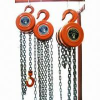 Wholesale New Design HSZ Chain Pulley Block from china suppliers
