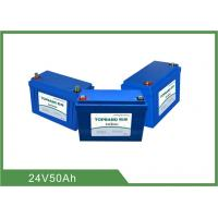 Wholesale Lithium Iron Phosphate Rechargeable Lifepo4 Battery 24v 50ah High Energy Density from china suppliers