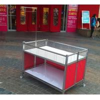 Wholesale Collapsible Garment Shop Promotional Desk / Retail Clothes Display Table For Store from china suppliers
