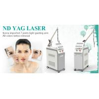 China 2018 hottest Professional q switch nd yag laser for tatoo/Freckle/pigment removal factory price on sale