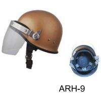 Wholesale Brown S. M. L. XL Riot Control Equipment Police Helmet with PC/AS from china suppliers