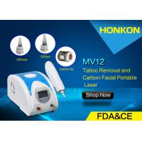 Wholesale 1064nm Q Switch ND YAG Laser Tattoo Removal , Skin Toning Shining Laser Resurfing from china suppliers