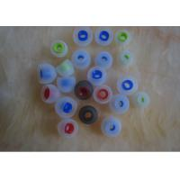 Wholesale Single Layer Rubber Silicone Earphone Cover For Mobil Phone / MP3 Earplug from china suppliers