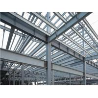 Wholesale Prefab Industrial Steel Buildings Components Fabrication , Commercial Steel Buildings from china suppliers