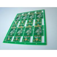 Wholesale Double-Sided 1 OZ Copper FR4 PCB Board Immersion Gold with Green Solder Mask from china suppliers