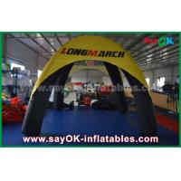 Wholesale Logo Printed 4 Legs Inflatable Air Tent Spider Dome Tent With PVC Material from china suppliers