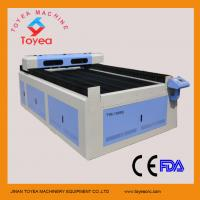 Wholesale 20mm thick acrylic & 1.5mm SS laser cutting machine with 1300 x 2500mm working table,knief strip table  TYE-1325 from china suppliers