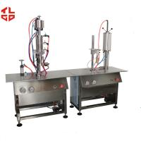 Wholesale Semi-Automatic Bag On Valve Aerosol Filling Machines for Avene Cosmetic Sprays from china suppliers