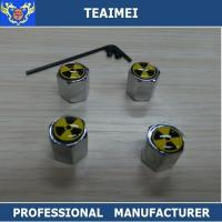 Wholesale Wheel Cover Hub Cap Car Wheel Valve Caps Silver Chrome Or Customuzed from china suppliers