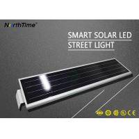 Wholesale 3300LM 5 Years Warranty IP65 30W 40W Integrate LED Solar Street Light for Parking Lot from china suppliers