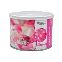 Wholesale Rose Flavour Depilatory Hair Removal 400g / Canned Solid Genuine Hot Wax Shaving With Epilator Use from china suppliers